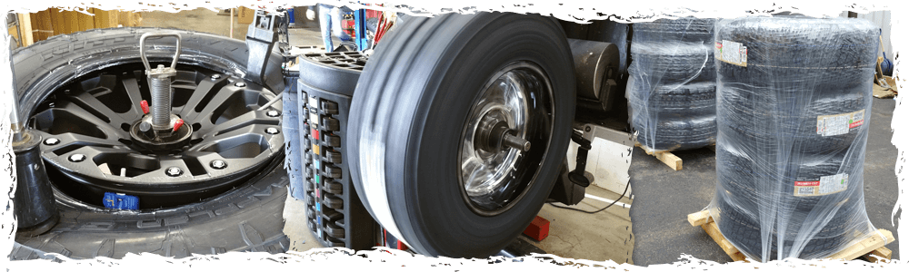Mounting, Balancing, Shipping - Wheel and Tire Packages